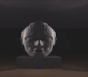 背後兩側投光:強調被照物輪廓,陰影於前方延展
